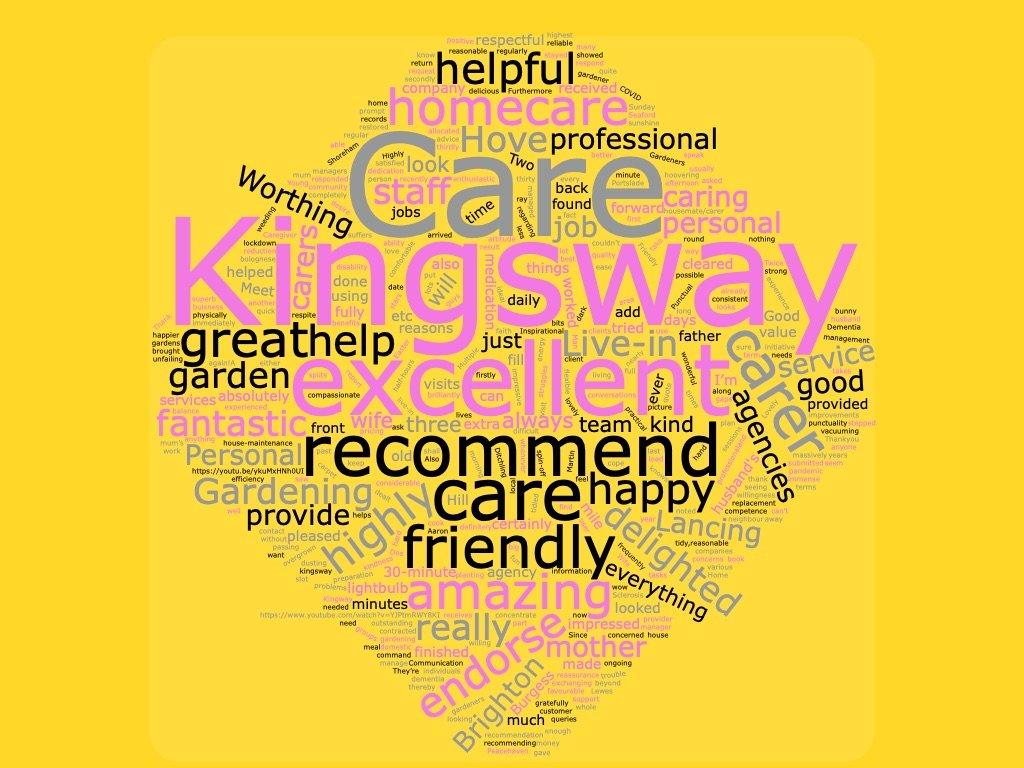 fantastic testimonials tic for Kingsway Care