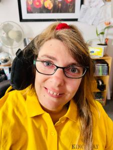 Katy, Kingsway Care's disability champion